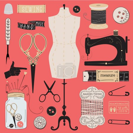 Set of tailor tools