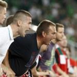 Постер, плакат: Hungary vs Northern Ireland UEFA Euro 2016 qualifier football m
