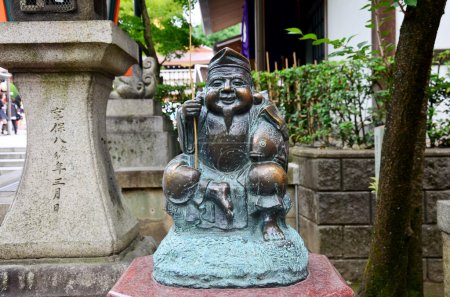 Ebisu statue god of fishers or merchants is the Seven Gods of Fo