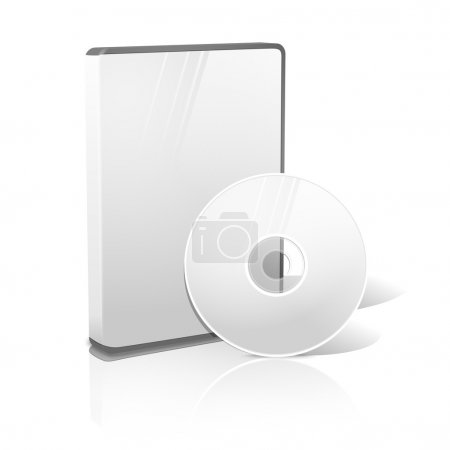 DVD, CD, Blue-Ray case with disk.