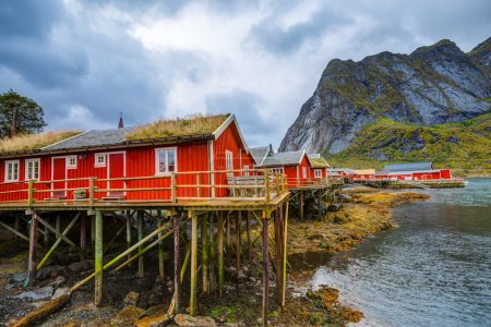 Reine fishing village at Lofoten Islands, Norway