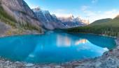 Moraine lake panorama