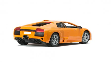 Collectible toy model Lamborghini back