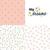 My dreams -  set of  patterns