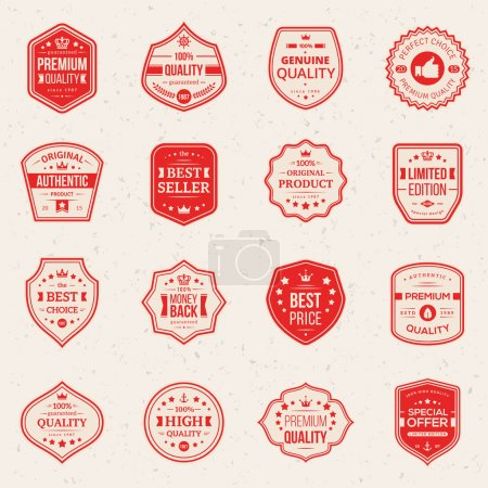Collection of Premium and High Quality labels.
