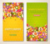 Velikonoční svislé bannery Set