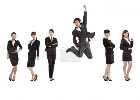 professional and confident business team