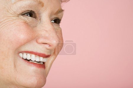 Photo for Portrait of a senior adult woman - Royalty Free Image