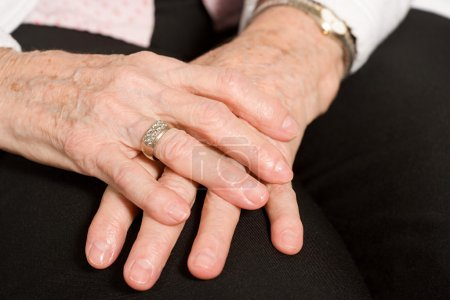 Photo for Hands of an elderly woman - Royalty Free Image