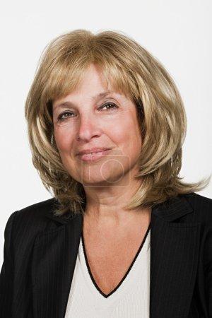 Portrait of mature adult lady