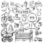 Baby sketch set