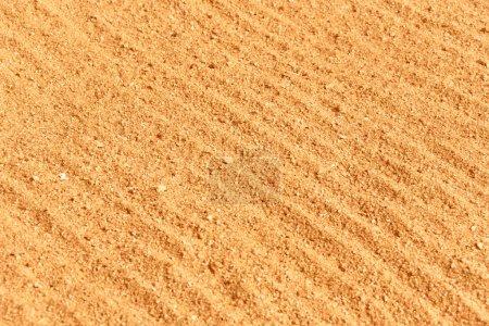 Wavy beach sand