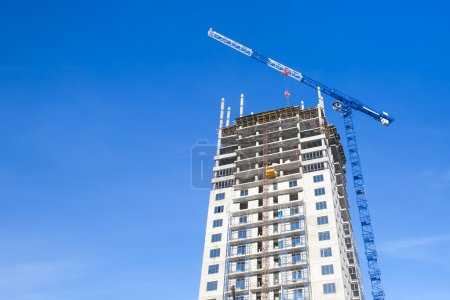 Construction of high-rise residential building