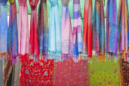 Multicolored indian cloth