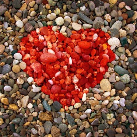 Pebble beach texture,