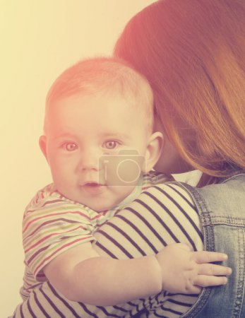 Portrait of little cute boy