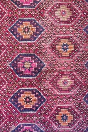 Colorful textile texture