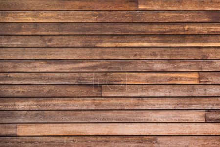 Rows of wooden planks