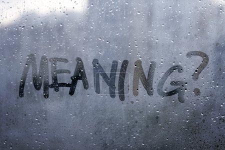 Autumn rain concept