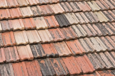 Pld roof tiles surface