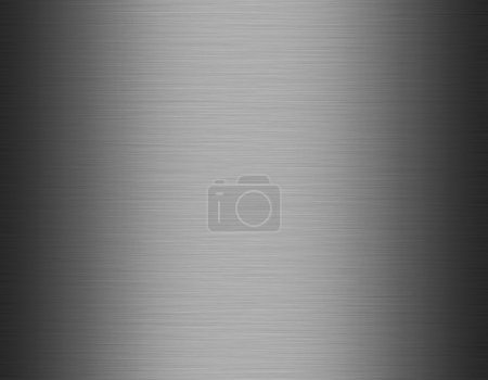 Photo for Metal, stainless steel texture background, metallic gray background - Royalty Free Image