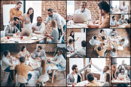 Creative team at work.