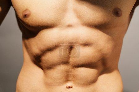 Perfect abdomen pose