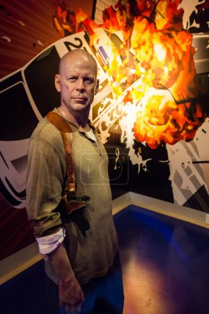 Poster: Madame Tussauds Bruce Willis