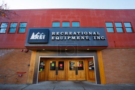 REI Storefront Eugene Oregon