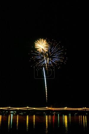 New Year's Eve Firework Display in Arizona