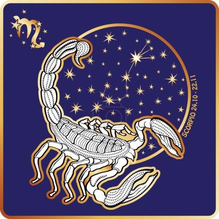 Horoscope.Scorpio zodiac sign