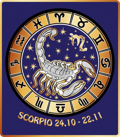Photo pour Un Bélier promenades derrière eux sont des symboles de tous les signes du zodiaque Horoscope cercle - image libre de droit