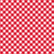 Diagonal red tablecloth seamless pattern vector il...