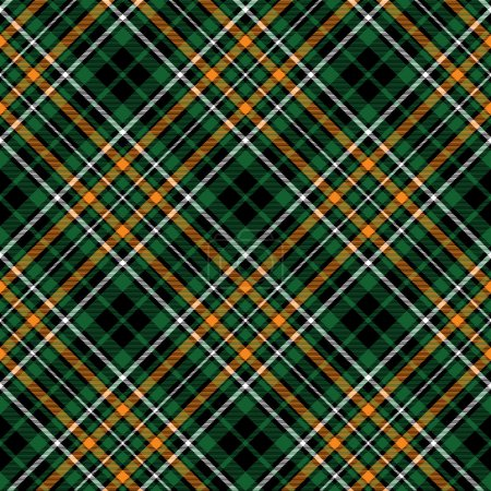 Green tartan celtic fc seamless pattern diagonal f...
