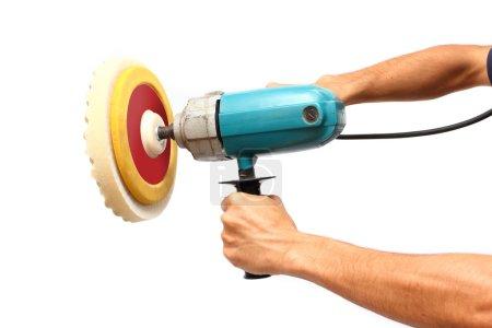 Power buffer machine