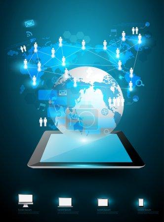 Technology business ideas concept