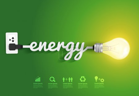 Energy saving and simple light bulbs ideas