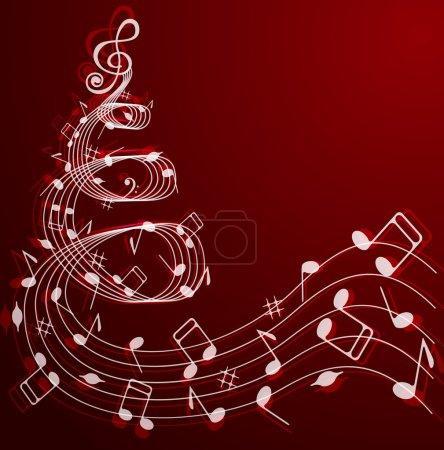 Musical Christmas tree .