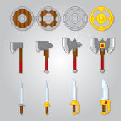 Game elements weapons