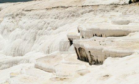 Pamukkale Cotton Castle bizarre system