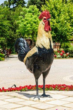 Denizli rooster sculpture