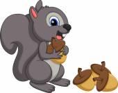 Squirrel cartoon