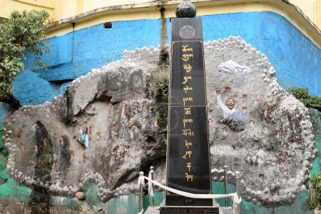 Tibet freedom and independance monument in Dharamsala