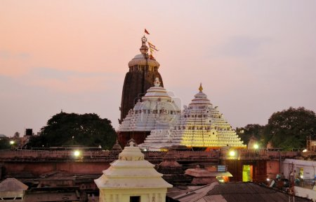 Jagannath Temple in Puri, Orissa, India.