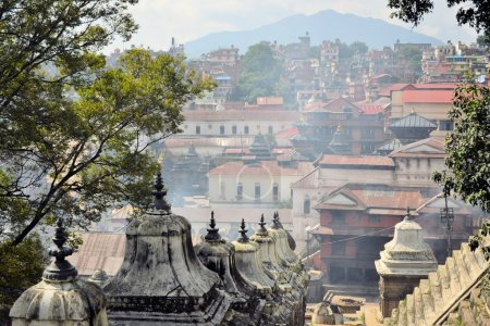 Pashupatinath temple and cremation ghats, Khatmandu