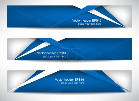 Web header or banner with precise dimension