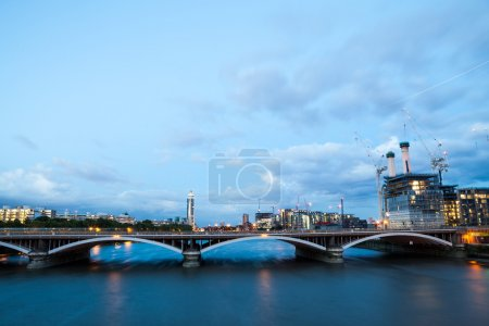 Battersea power station London View