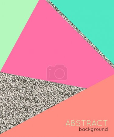 Abstact background in retro 80s style. Vector illustration.
