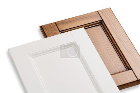 Wooden kitchen facade