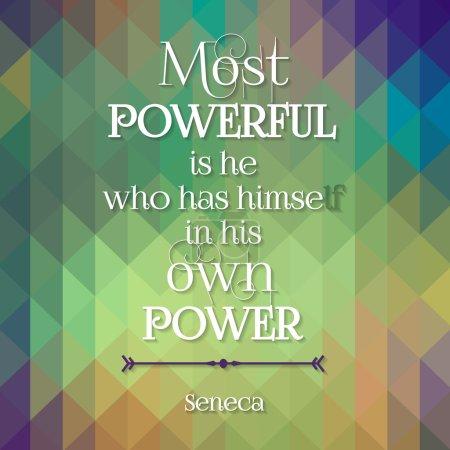 Quote of Seneca